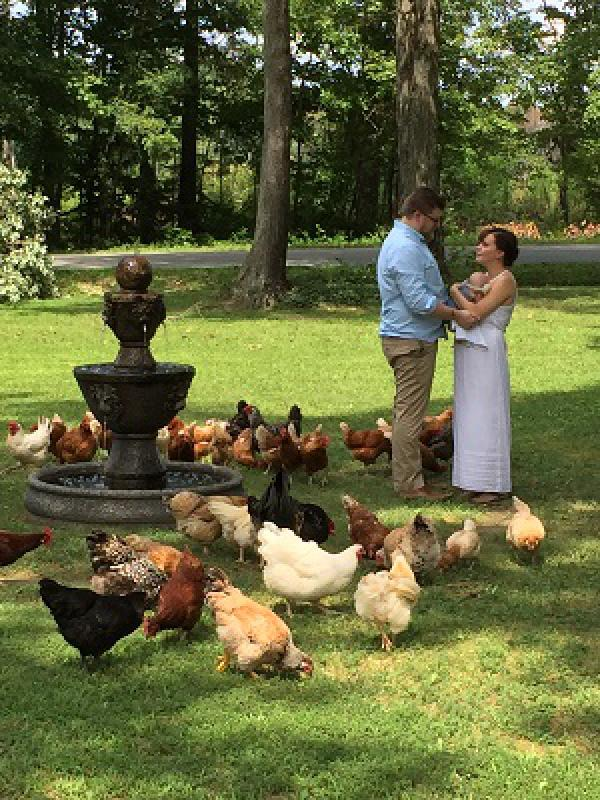 Unique country wedding at Shady Acres Bed and Breakfast